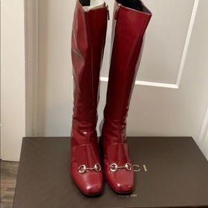 Tall Gucci Regent Boots